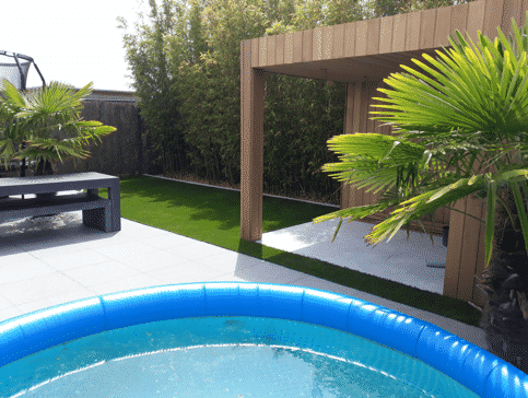 Zwembad-kunstgras