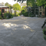 Ondergrond kunstgras tuin
